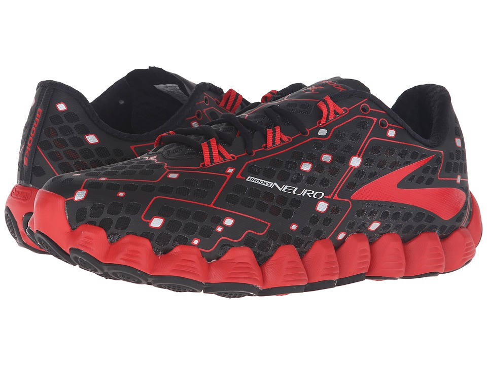 Brooks Neuro (Black/High Risk Red) Men