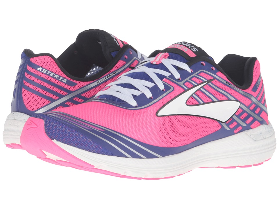 Brooks - Asteria (Knockout Pink/Clemantis/Black) Womens Running Shoes
