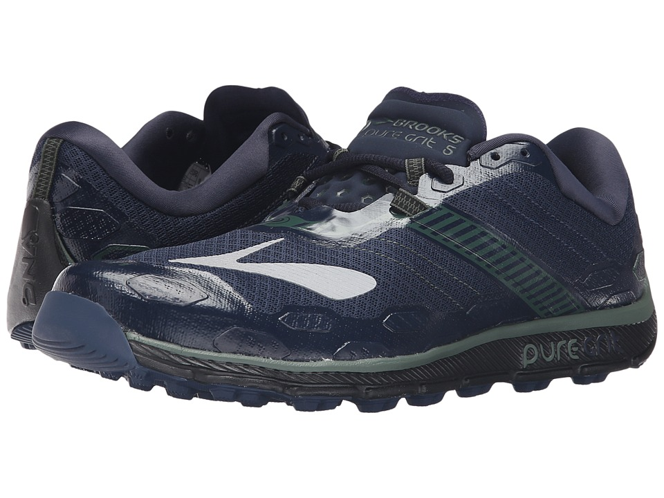Brooks PureGrit 5 (Dress Blues/Duck Green/Black) Men