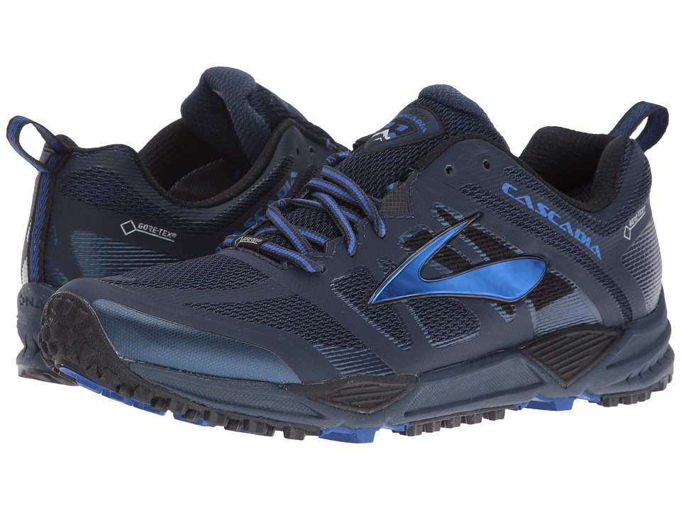 Brooks Cascadia 11 GTX (Dress Blues/Electric Brooks Blue/Black) Men