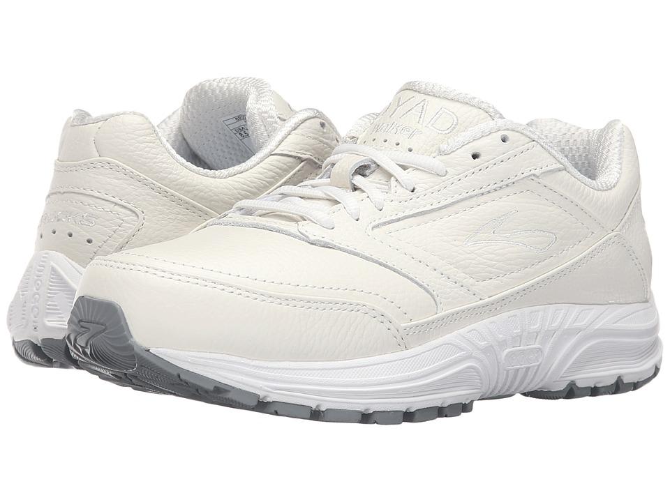 Brooks - Dyad Walker (White) Womens Running Shoes