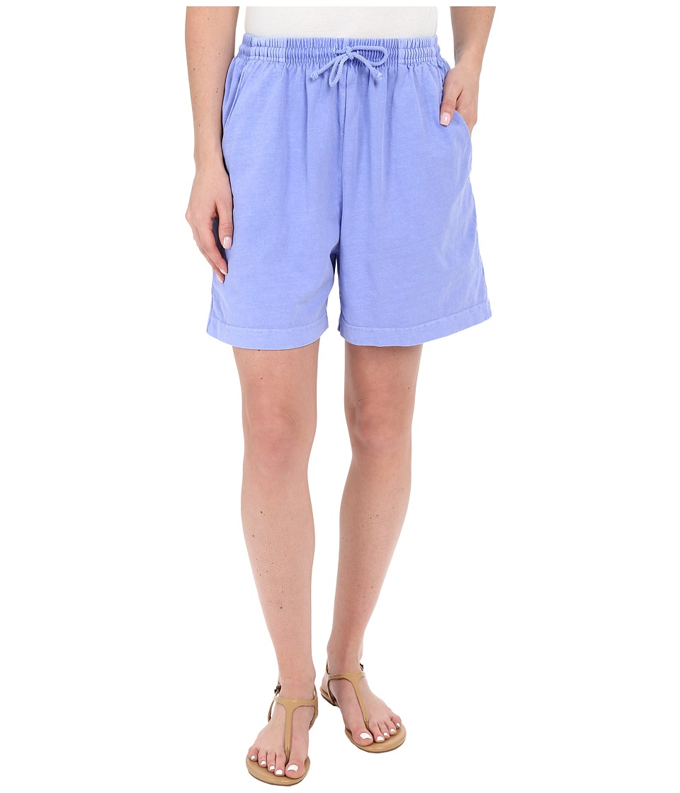 Fresh Produce Jersey Shorts Periwinkle Womens Shorts