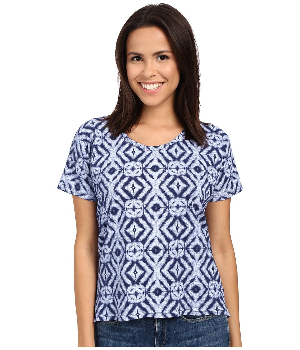 Fresh Produce Shibori Hannah Tee Moonlight Womens T Shirt