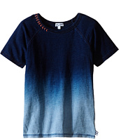 Splendid Littles - Indigo Short Sleeve Dip Dye Top (Little Kids)