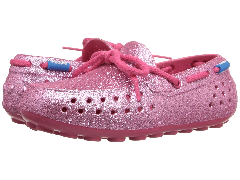 People Footwear Senna Toddler/Little Kid Playground Pink Sparkles Womens Flat Shoes