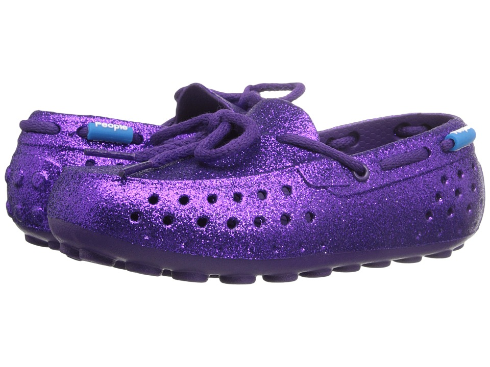 People Footwear Senna Toddler/Little Kid Crown Purple Sparkles Womens Flat Shoes