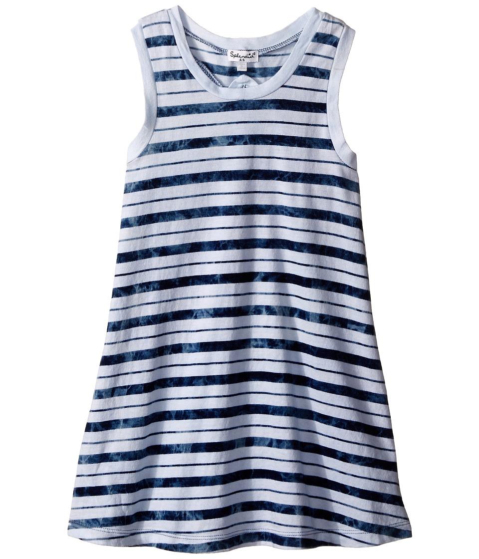 Splendid Littles Indigo Striped Dye Dress Little Kids Stripe Girls Dress