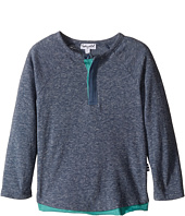 Splendid Littles - Tri-Blend Long Sleeve Knit Top (Toddler)