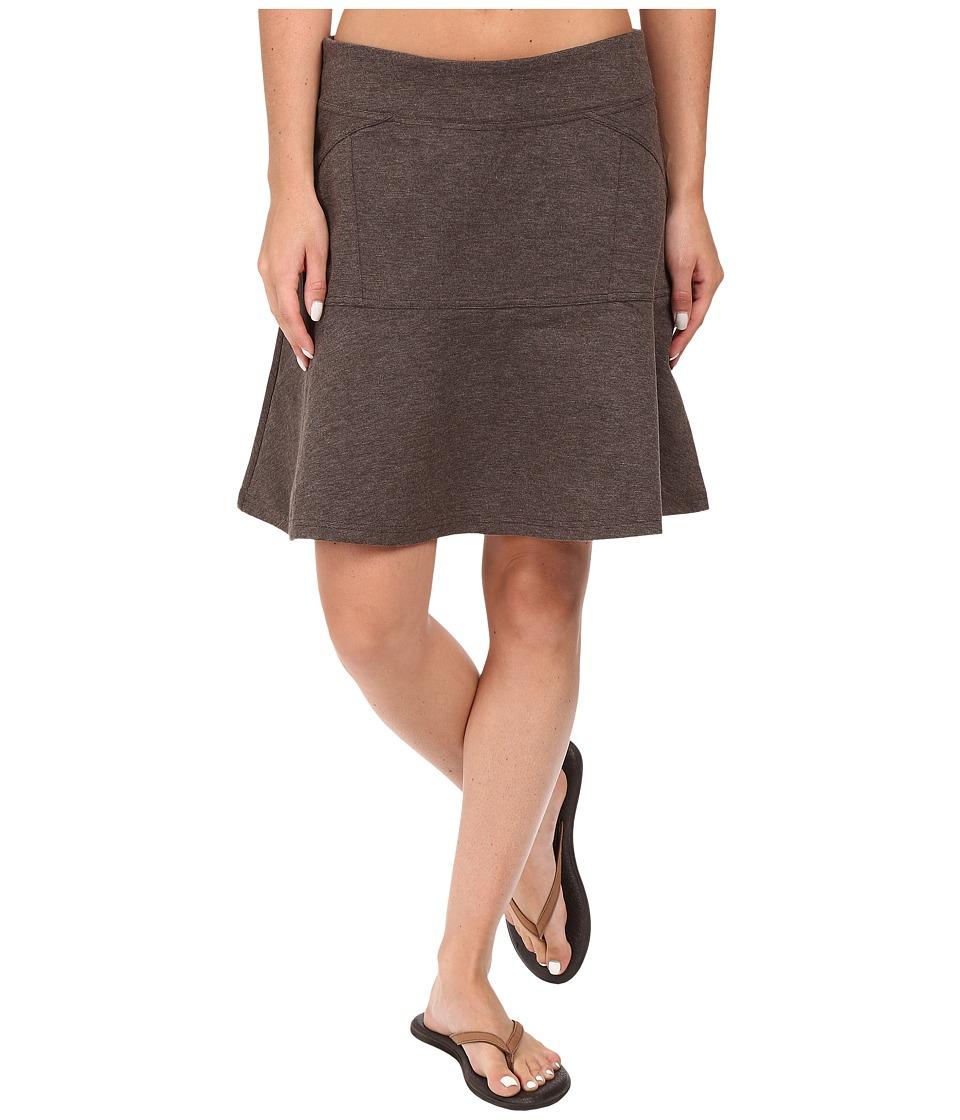 PRANA Gianna Skirt (Brown) Women's Skirt