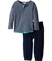 Splendid Littles - Tri-Blend Henley Top w/ Jogger (Infant)