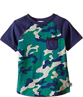 Splendid Littles - Short Sleeve Raglan Tee with Camo (Toddler)