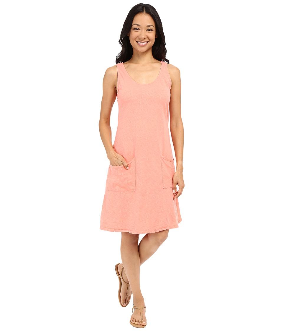Fresh Produce Drape Dress Melon Sherbet Womens Dress