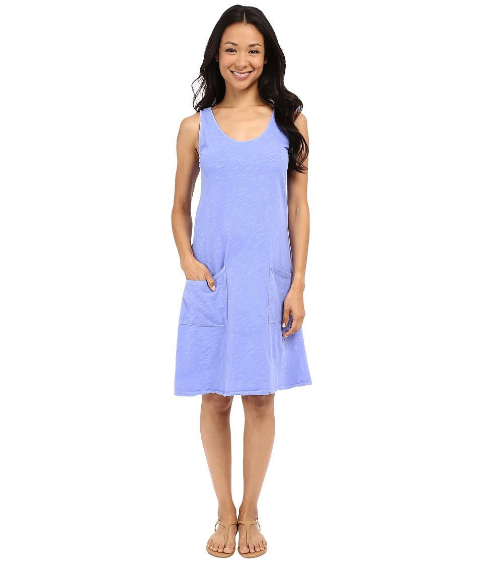Fresh Produce Drape Dress Periwinkle Womens Dress