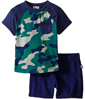 Splendid Littles - Short Sleeve Camo Raglan Shorts Set (Infant)
