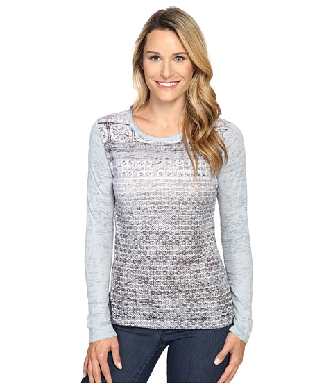 Prana - Lottie Top (Greystone) Women's Long Sleeve Pullover