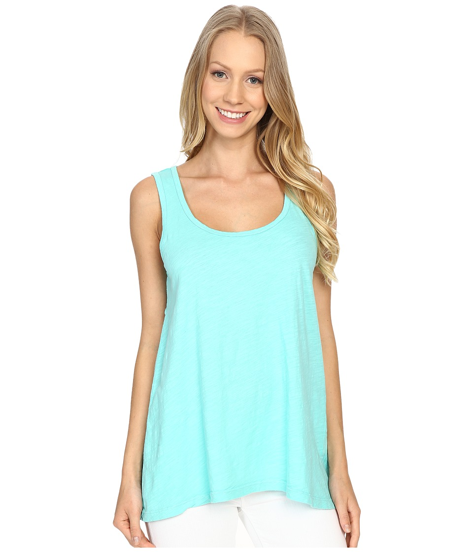 Fresh Produce Crossback Tank Top Palm Womens Sleeveless