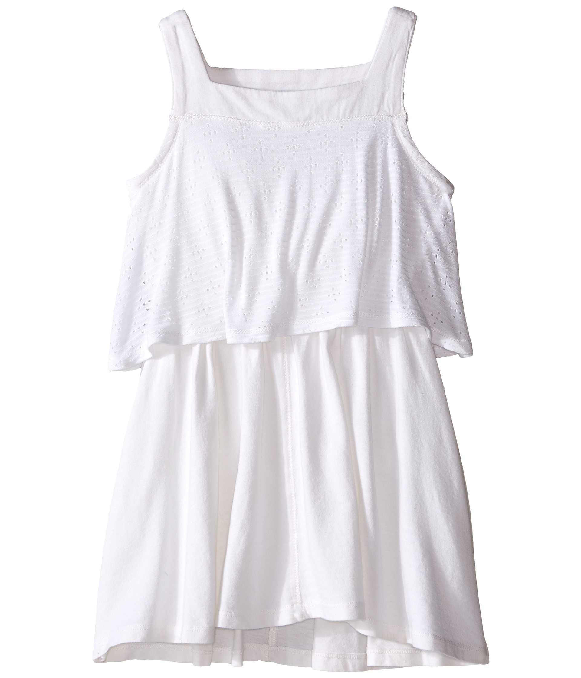 Splendid Littles Tank Eyelet Dress Toddler White