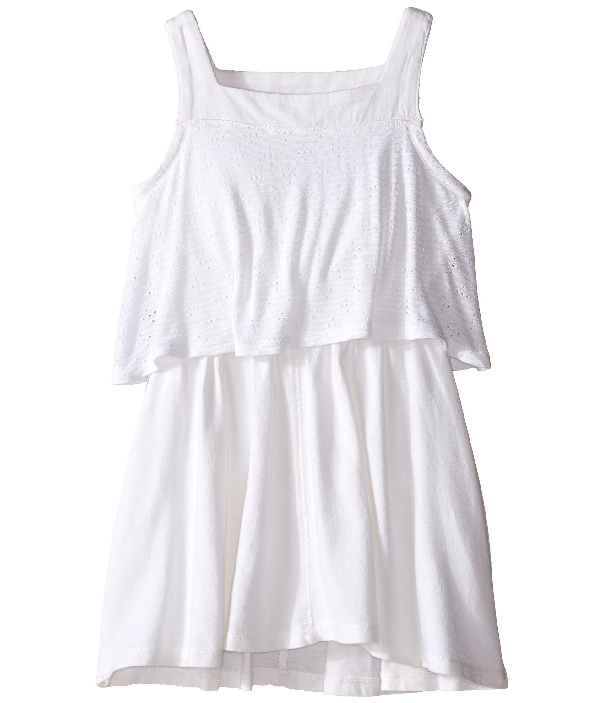 Splendid Littles Tank Eyelet Dress Toddler White