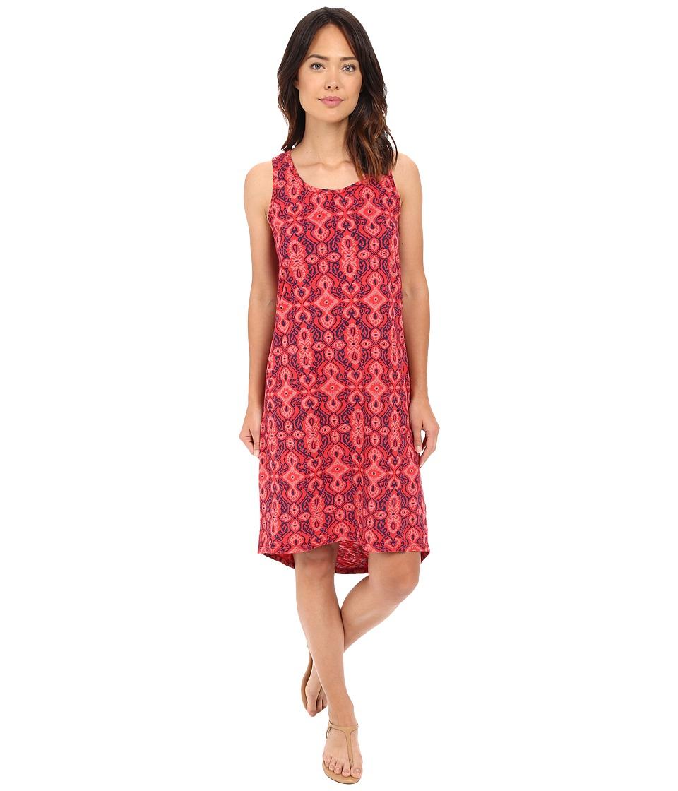 Fresh Produce Cali Crossback Tank Dress Barn Red Womens Dress