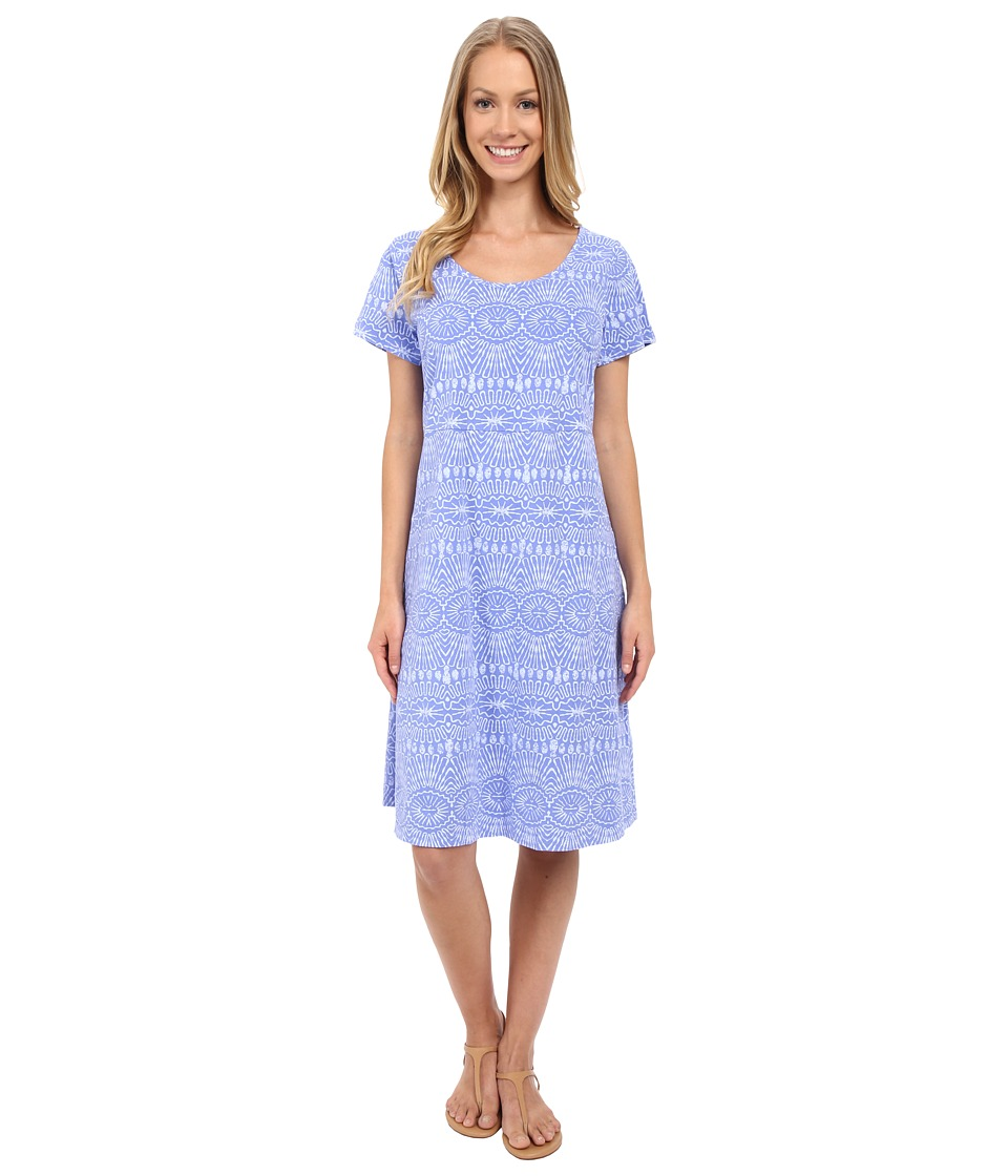 Fresh Produce Tribal Sadie Dress Periwinkle Womens Dress