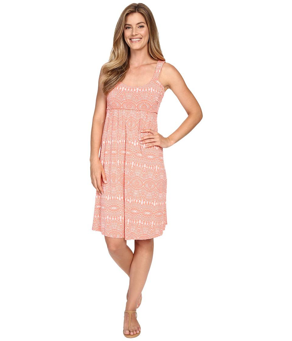 Fresh Produce Tribal Impromptu Dress Melon Sherbet Womens Dress
