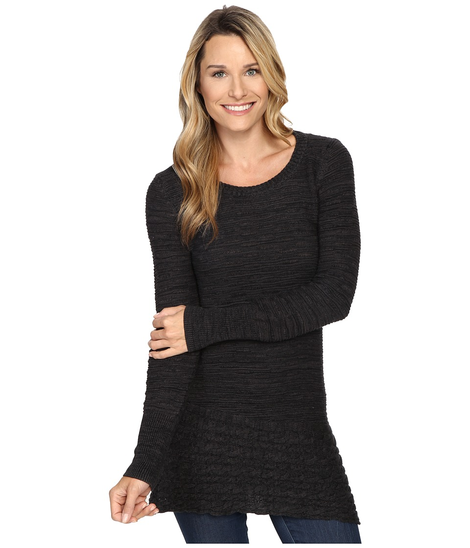 Prana - Felicia Tunic Sweater (Coal) Women's Sweater