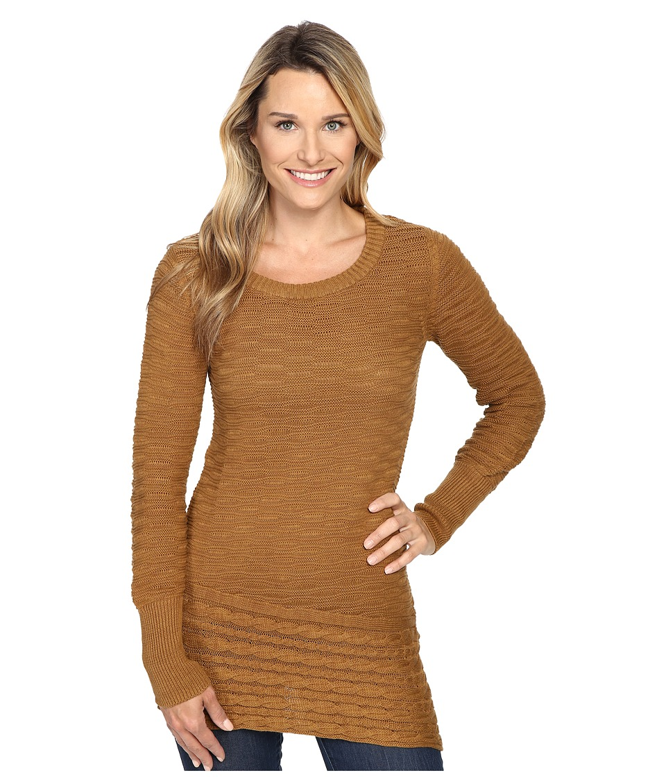 Prana - Felicia Tunic Sweater (Dark Ginger) Women's Sweater