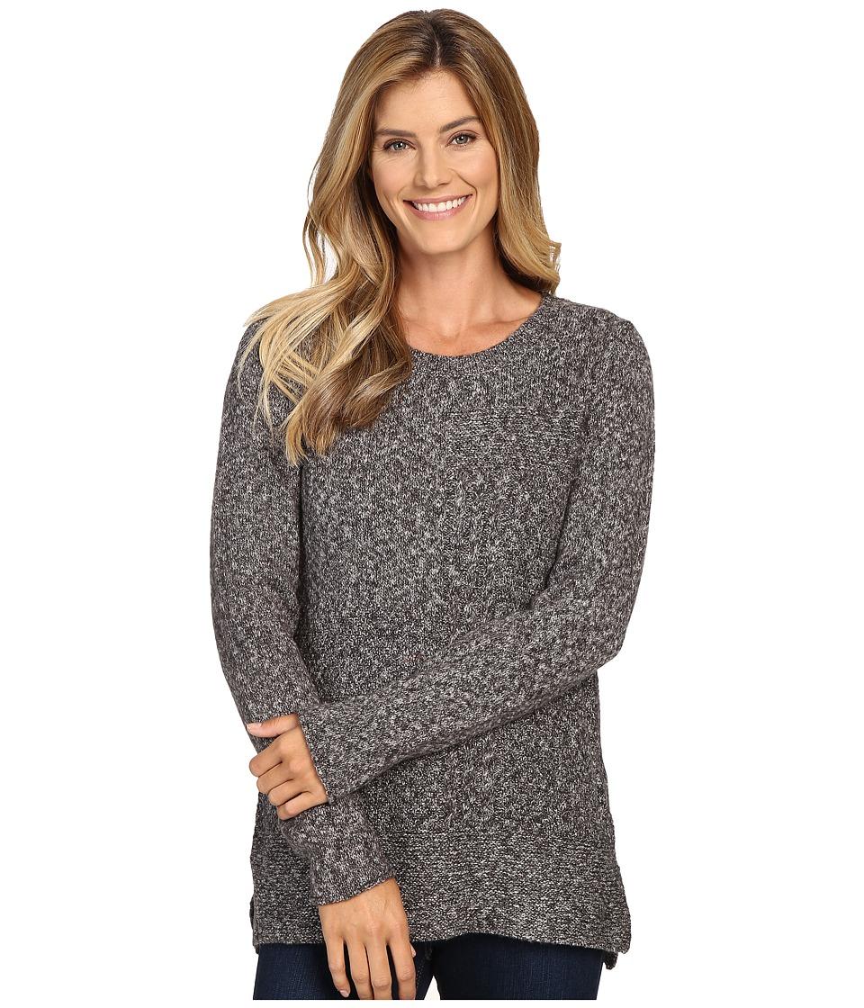 Prana - Nolan Tunic Sweater (Coal) Women's Sweater