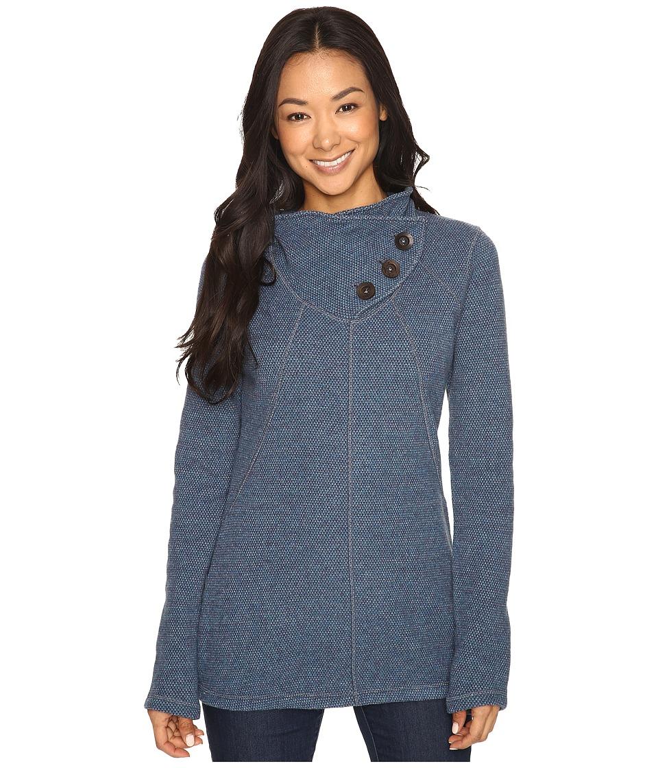 Prana Ebba Tunic Sweater (Gray Indigo) Women