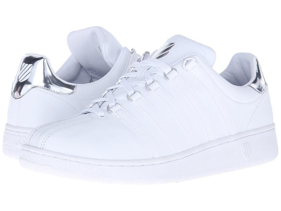 K-Swiss - Classic VN Metal (White/Metal Silver Leather) Men