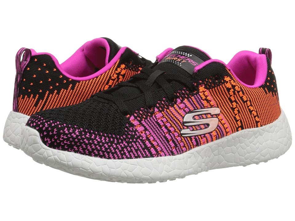 SKECHERS - Burst - Ellipse (Black/Purple) Womens  Shoes