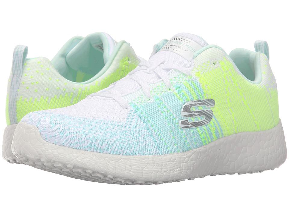 SKECHERS - Burst - Ellipse (White) Womens  Shoes