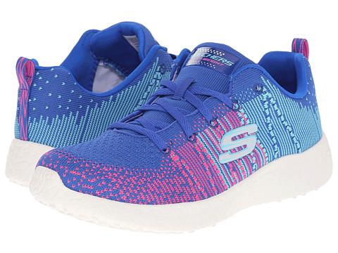 SKECHERS Burst - Ellipse - Blue/Hot Pink