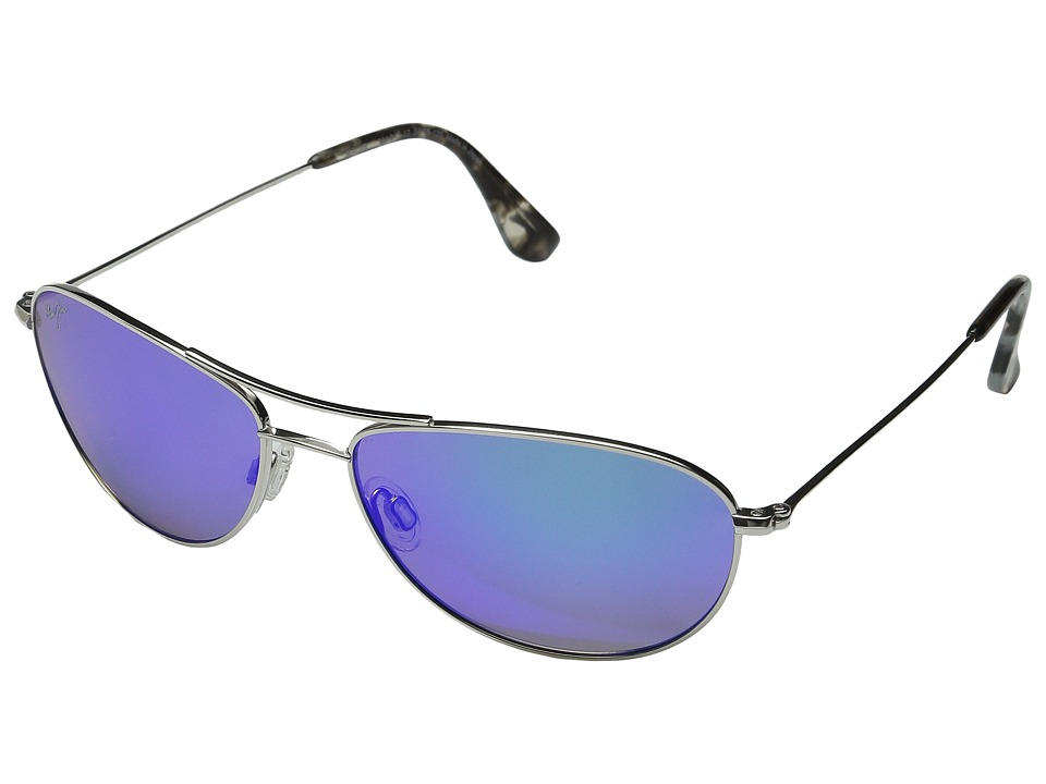 Maui Jim Baby Beach Silver/Blue Hawaii Sport Sunglasses