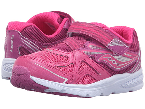 Saucony Kids Baby Ride (Toddler/Little Kid) - Pink/Berry