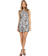 Aidan Mattox - Cap Sleeve Fitted Stretch Lace Dress