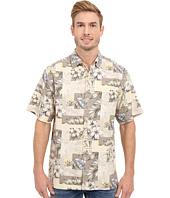 Tommy Bahama - Plumeria Patchwork Tortola Silk Camp Shirt