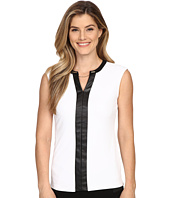 Calvin Klein - Sleeveless V-Neck Chain Top