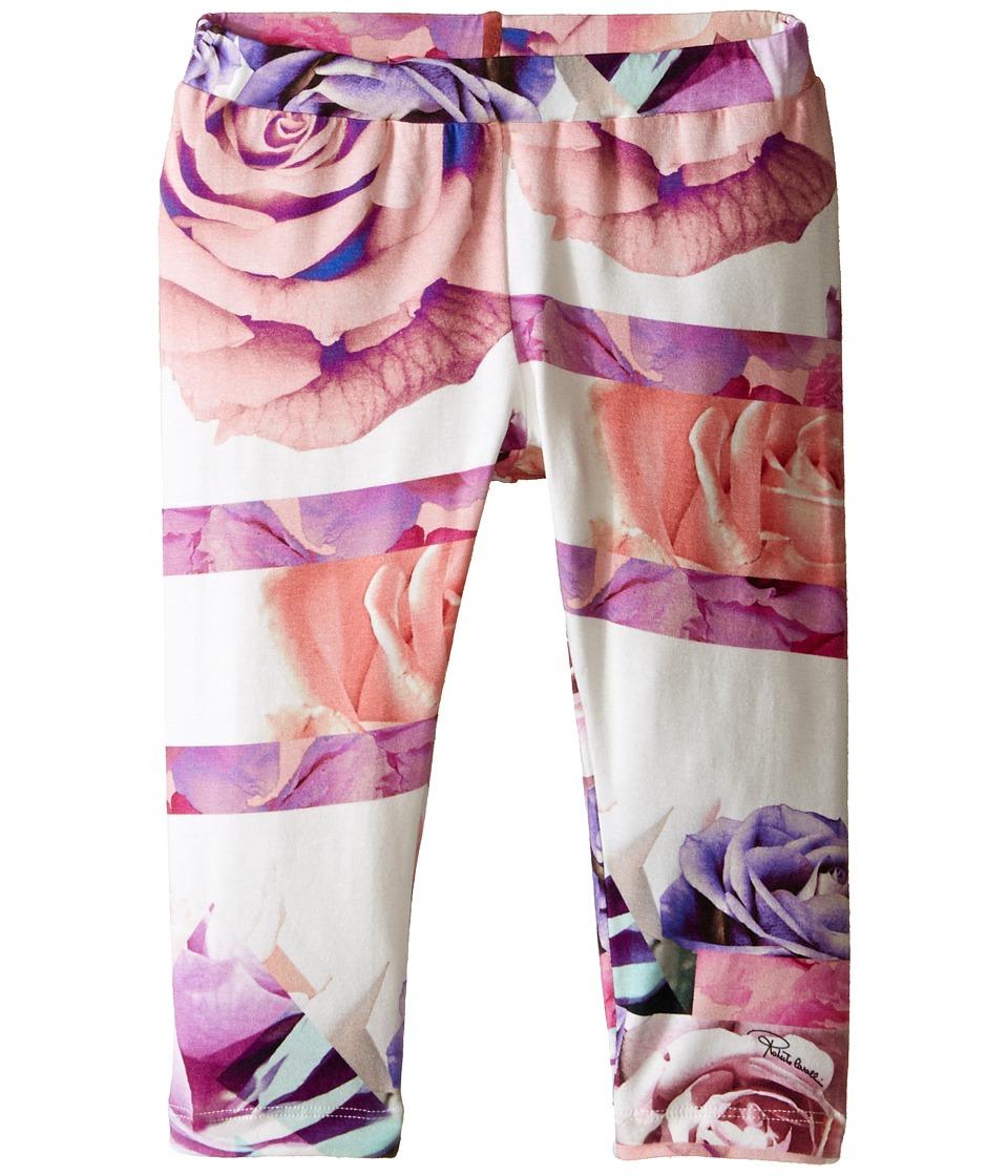 Roberto Cavalli Kids All Over Print Leggings Toddler/Little Kids Rose Print Girls Casual Pants