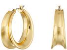 LAUREN Ralph Lauren Concave Clickit Hoop Earrings