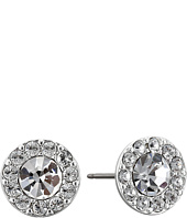 LAUREN Ralph Lauren - Small Round Pave Stud Pierced Earrings