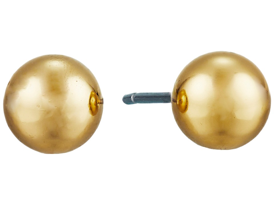 LAUREN Ralph Lauren - 6mm Stud Earrings (Gold) Earring
