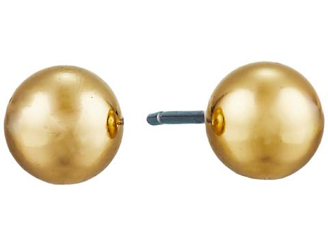 LAUREN Ralph Lauren 6mm Stud Earrings - Gold