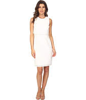 Calvin Klein - Sleeveless Window Double Layer Dress