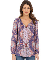 Lucky Brand - Tile Print Top