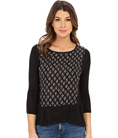 Lucky Brand - Woodblock Printed Top