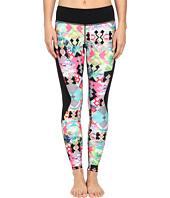 Pink Lotus - Hawaii Tribe Contrast Performance Leggings