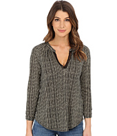 Lucky Brand - Woodblock Vines Top
