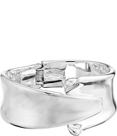 Robert Lee Morris - Silver Sculpted Hinge Bangle