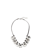 Robert Lee Morris - Silver Disc Frontal Necklace